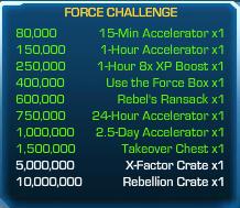 Force Challenge 50