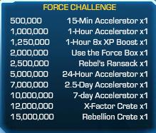 Force Challenge 54