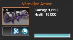 Vermillion armo b