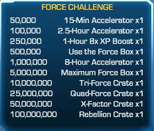 Force Challenge 30
