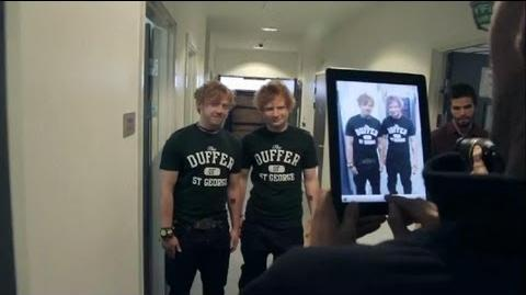 Ed Sheeran - Behind The Scenes Lego House