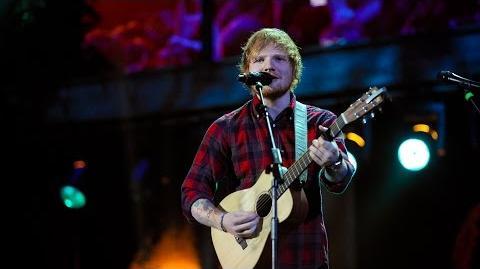 Ed Sheeran - Sing at BBC Music Awards 2014