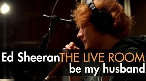 Video Ed Sheeran Be My Husband Nina Simone Cover Captured In The Live Room Ed Sheeran