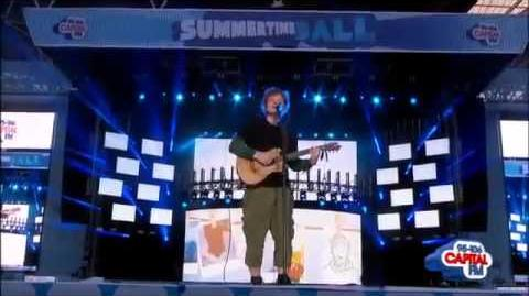 Ed Sheeran - Lego House Live at the Capital Summertime Ball 2012