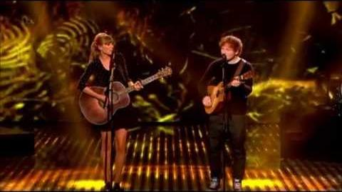 Taylor Swift & Ed Sheeran - Everything Has Changed (Britain's Got Talent Final 2013)