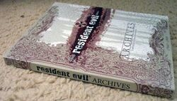Resident Evil Archives Spine