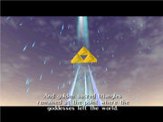 Triforce screen