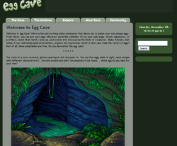 EggCave November2009