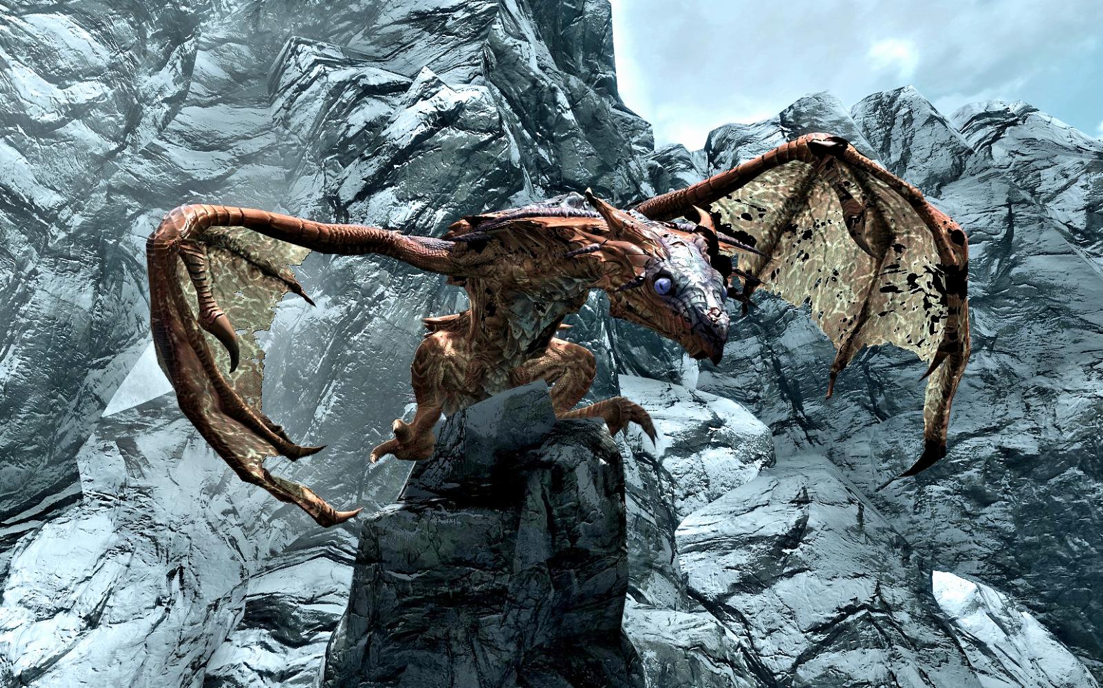 Skyrim Dragon: FANDOM Powered By Wikia