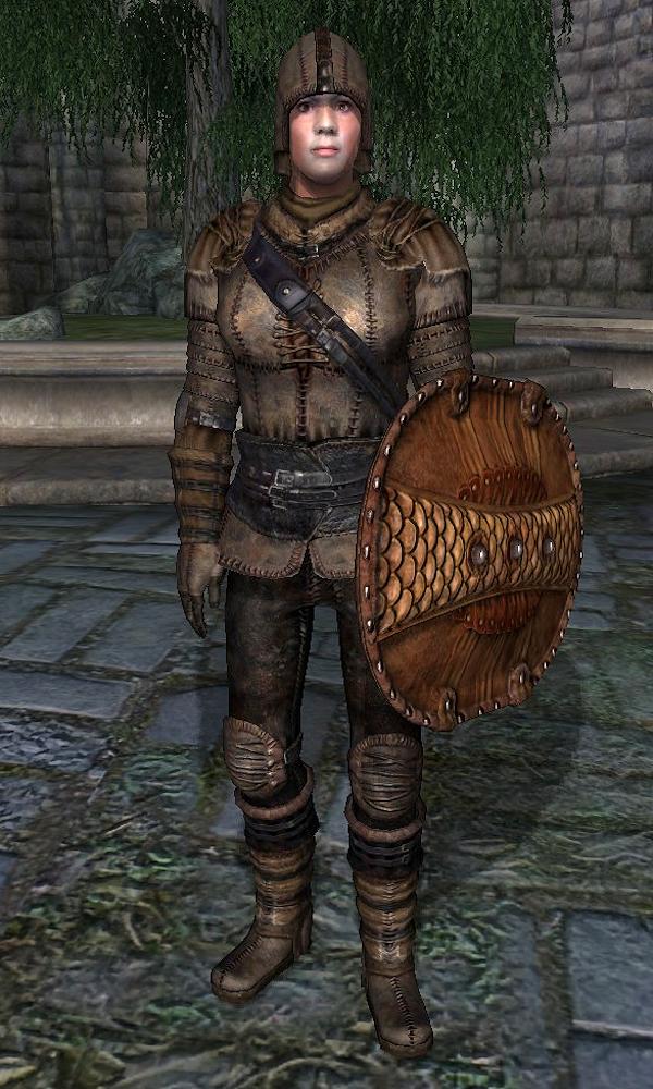Daedric Armor Leather Armor (Oblivio...