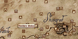 Meridia's Shrine MapLocation