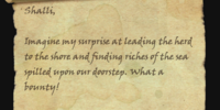 Rakamud's Letter