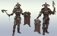Steel armour concept