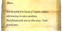 Watchtower Guard's Letter