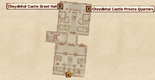 Cheydinhal Castle County Hall InteriorMap