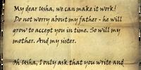 Letter to Usha