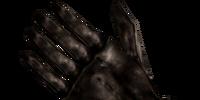 Black Left Glove