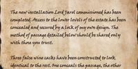 Contractor's Note