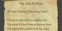 The Sea It Rises