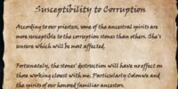 Susceptibility to Corruption