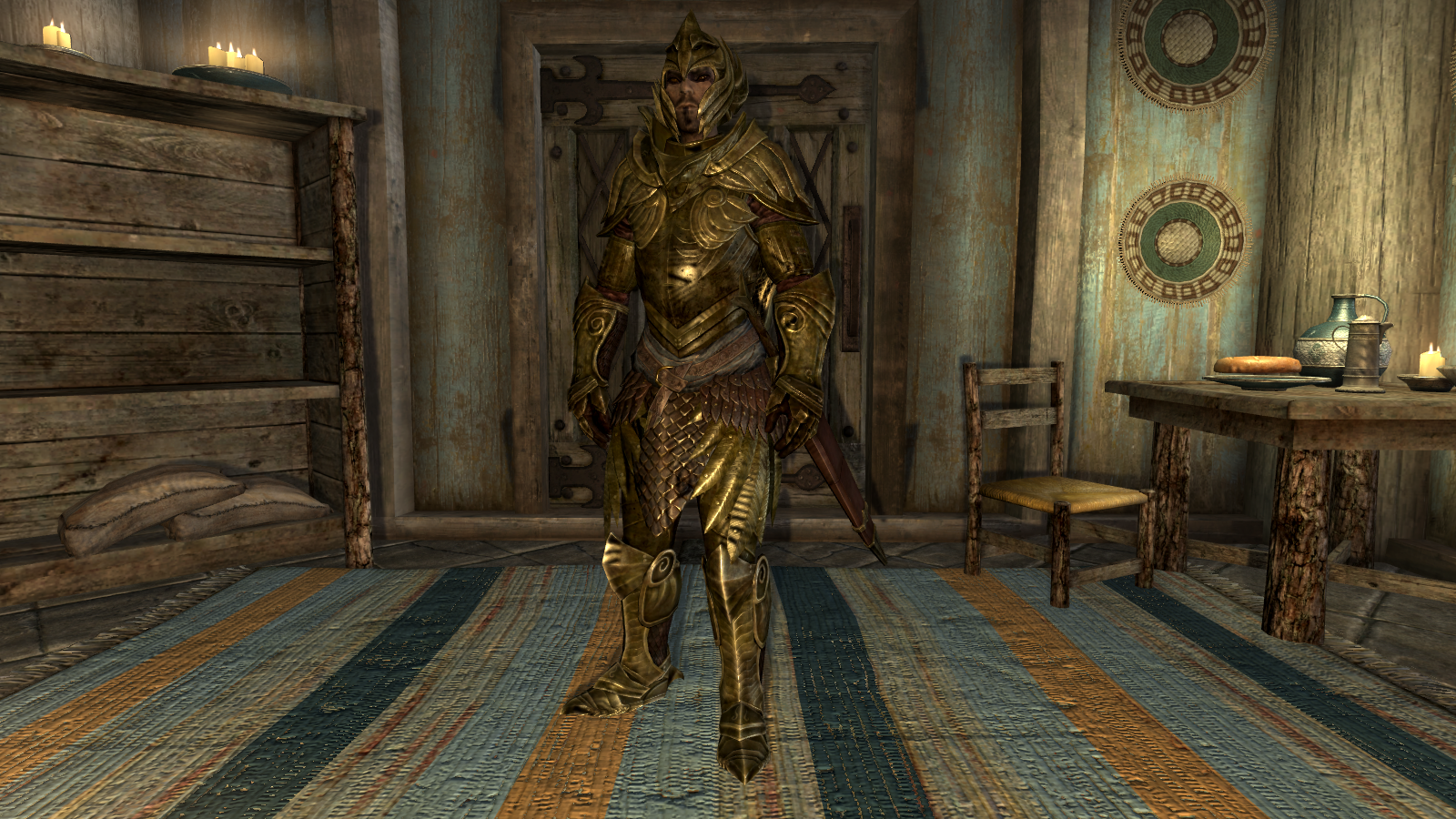 Elven Armor and Weapons recolor at Skyrim Nexus - mods and community
