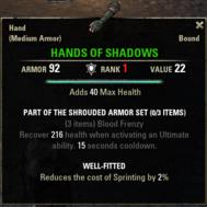 Shrouded Armor - Hands V1