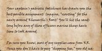Oblan's Letter