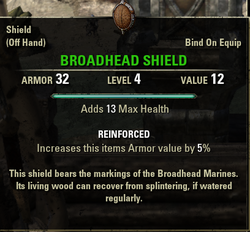 Broadhead Shield
