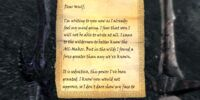 Torkild's Letter to Wulf