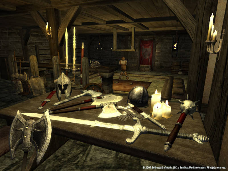 Oblivion Storing Items Weapons Oblivion  Elder Scrolls  Fandom Poweredwikia