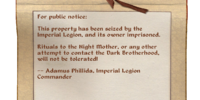 Public Notice (Oblivion)