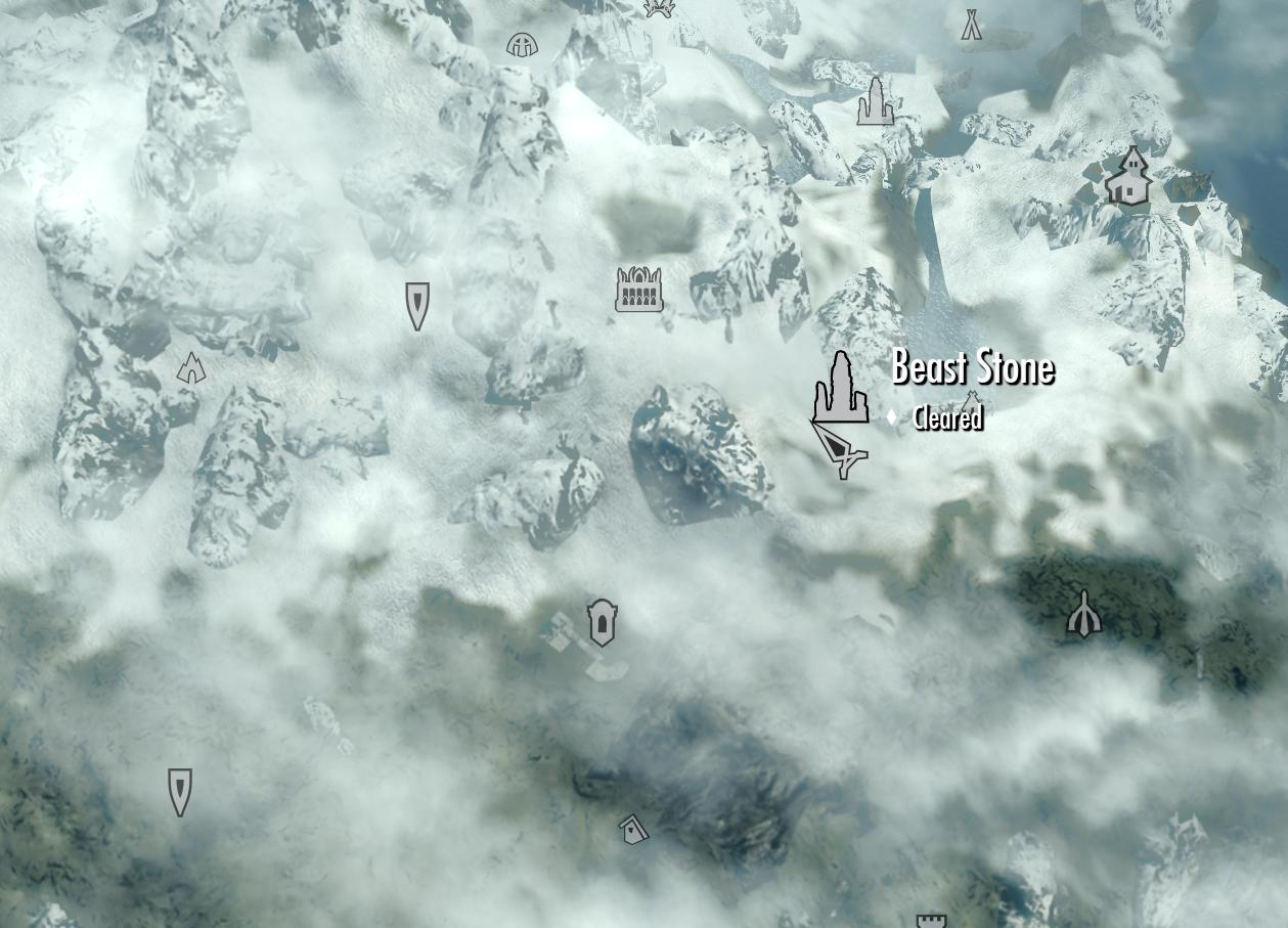 Damphall Mine Location