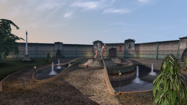File:Mournhold, Plaza Brindisi Dorom - Morrowind.png