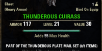 Thunderous Plate Mail