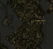TES3 Morrowind - Bitter Coast - Shurinbaal (cave) - location map