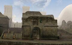 TES3 Morrowind - Balmora - Fast Eddie's House and Itan's House exterior.jpg