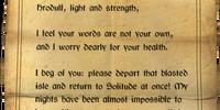 Letter (Dragonborn)