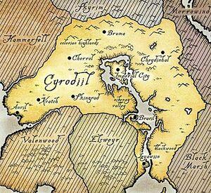 Cyrodiil map Oblivion