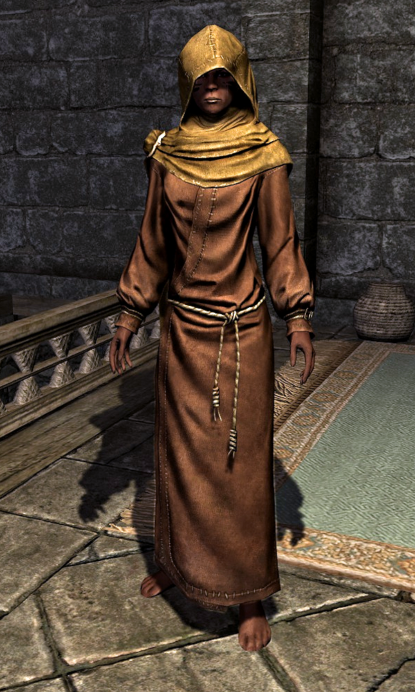 how to get temple priest robes skyrim
