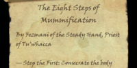 The Eight Steps of Mummification