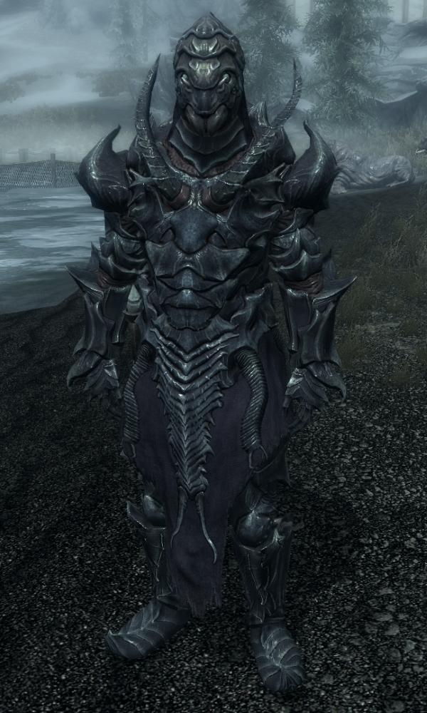 Image result for falmer heavy armor with shellbug helmet