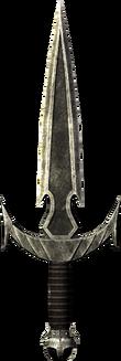 La Cuchilla de Mehrunes (como se ve en Skyrim)