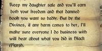 Letter to Beem-Ja