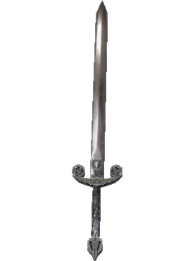 LEGO Flat Silver Long Sword with Thick Crossguard (18031) Comes In ...