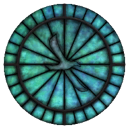 Kynareth Stained Glass Circle