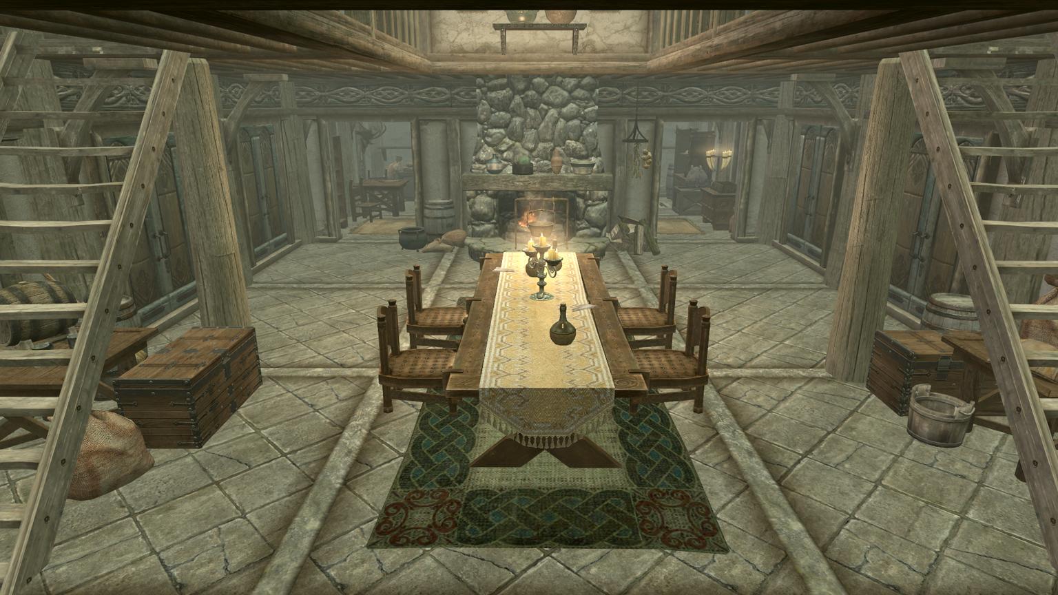 Best house layout hearthfire