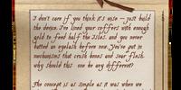 Letter Draft