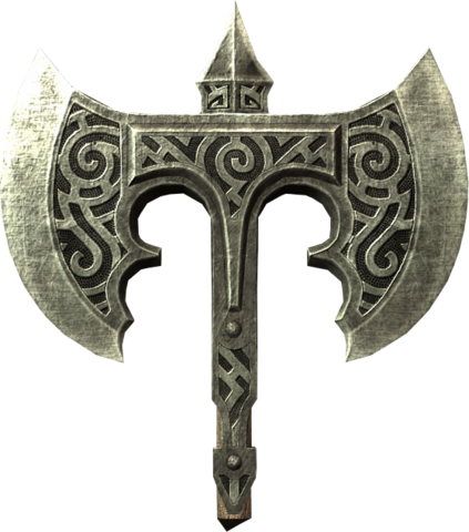 File:Broken steel battle axe head.png