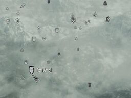 Fort amol map