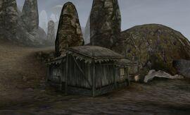 TES3 Morrowind - Dagon Fel - Greidil Half-Troll's House exterior